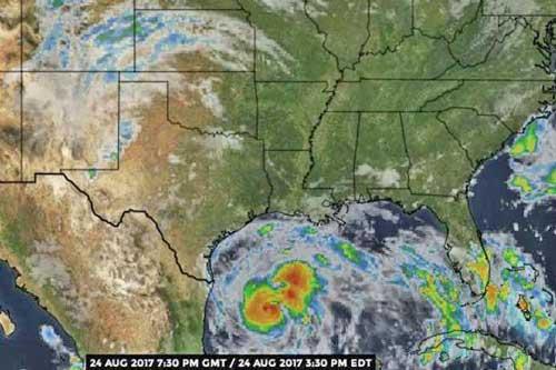 Hurricane Harvey Threatens Texas: Landfall Expected Friday or Saturday