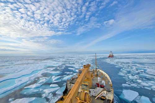 Coast Guard Cutter Maple Completes Historic Voyage through Northwest Passage