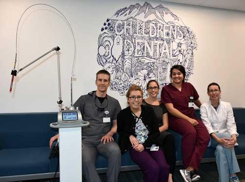 SEARHC Children's Dental Clinic now offers state-of-the-art LightScalpel procedures