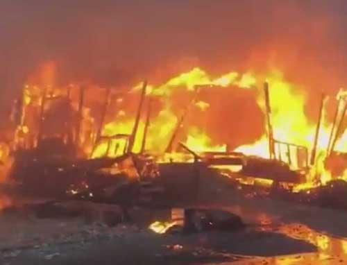 New Blaze Prompts Emergency in San Diego County