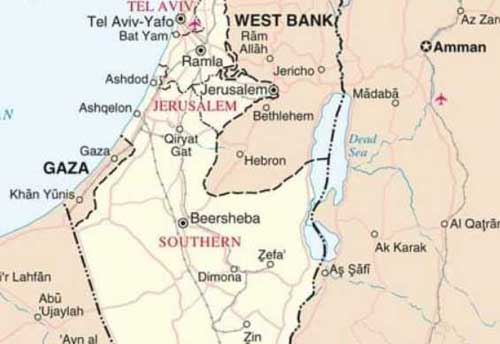 Israel Strikes Gaza in Response to Rocket Fire