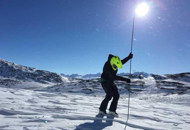 Skiers, Snowmachiners Help Improve Snow Models