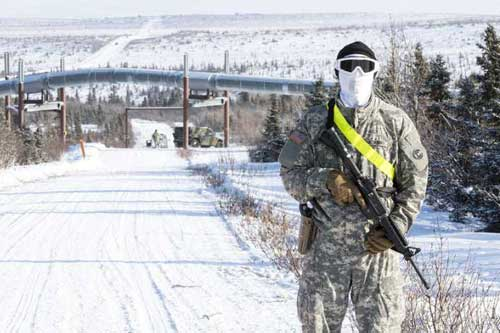 Alaska National Guard Hones in on Efficient Cyber Security during Arctic Eagle 2018