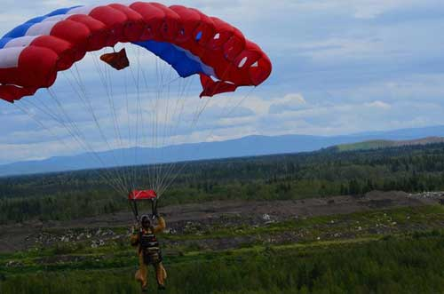 BLM Alaska Fire Service Smokejumper Training Jumps Begin This Week
