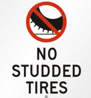 Studded Tire Removal Deadline Rapidly Approaching
