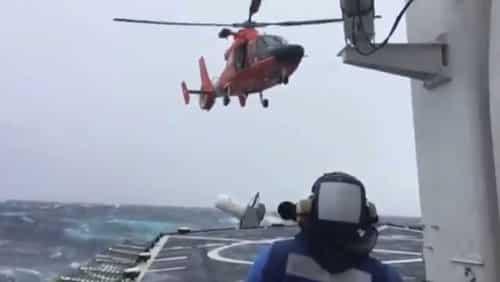 Coast Guard Medevacs Man in Severe Weather near Dutch Harbor