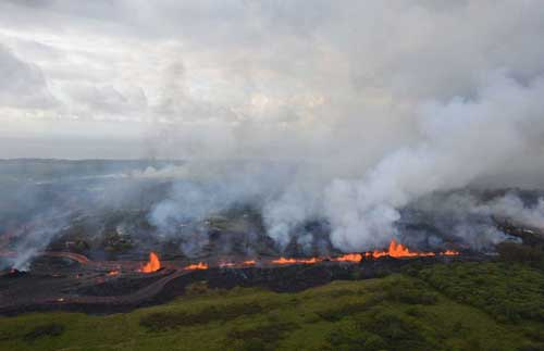 Hawaii Volcano's Lava Causes 1st Known Serious Injury