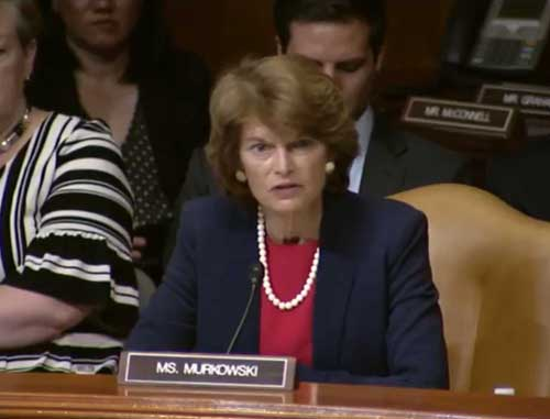 Murkowski Introduces Bipartisan Legislation to Bolster America's Arctic Role