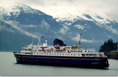 MV Malaspina Repairs Force Change in Winter AMHS Service to Southeast Alaska and Prince Rupert