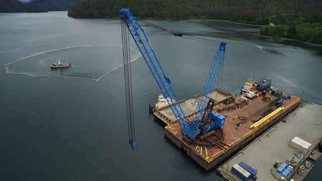 Tug Powhatan to be Raised from Gastineau Channel on Sunday