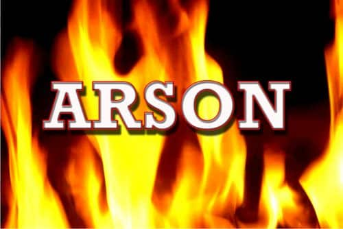 Two Young Children Start Grayling School on Fire