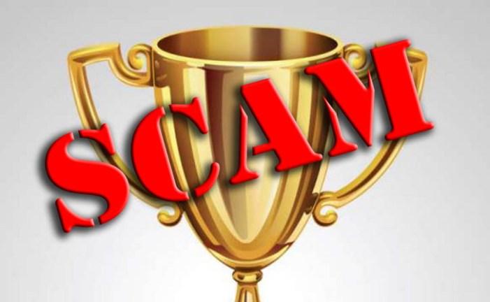 Award Scam a Big Loser