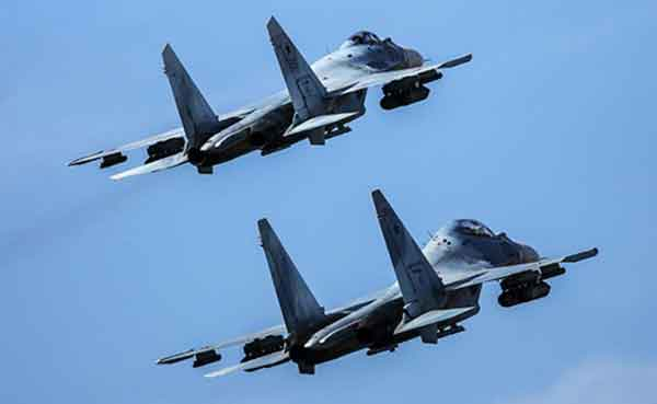 Russian TU-95 Bombers Two Su-35 Fighters Intercepted Near Point Hope on Wednesday Evening
