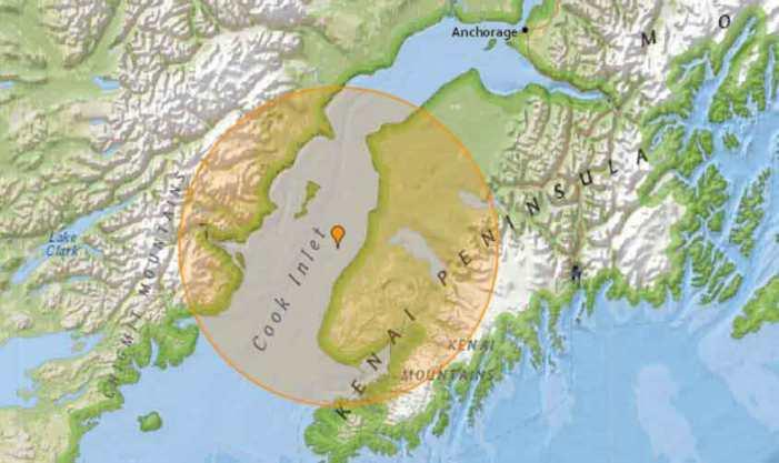 5.4 Magnitude Quake Rattles Kenai Peninsula