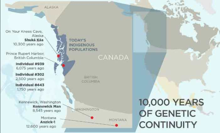 Study Reveals 10,000 Years of Genetic Continuity in Northwest