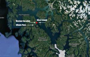 Location of missing mariners. Image-Google Maps