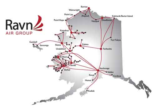 Ravn Alaska to Honor all Yute Air Flights through Month of March