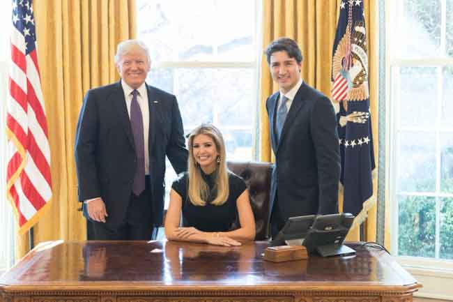 Ivanka Trump Gets West Wing Office, Access to Classified Info