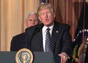 Trump has pointed to Obama's Climate Rule as a threat to the nation's businesses. Image-VOA