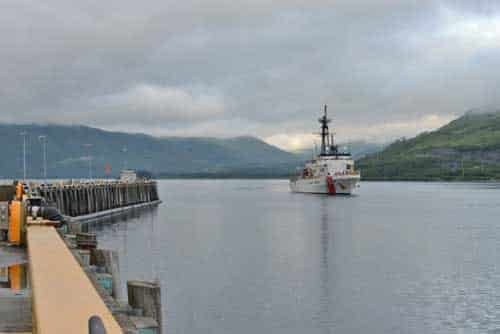 Coast Guard Cutter Alex Haley Returns from 90-day North Pacific Guard Patrol