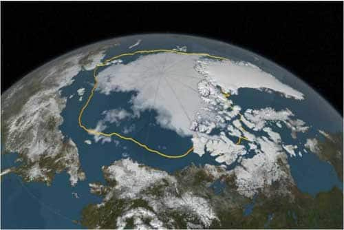 Pacific Ocean's Effect on Arctic Warming