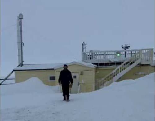 Carbon Dioxide Sample From Utqiaġvik Provides Wake-up Call on Climate