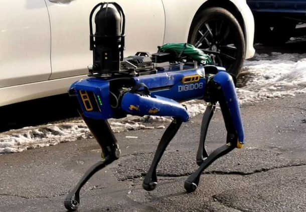 Rep. Alexandria Ocasio-Cortez (D-N.Y.) criticized the New York Police Department's deployment of a robotic K-9 unit to respond to a home invasion on February 23, 2021. (Photo: FNTV/YouTube screen grab)