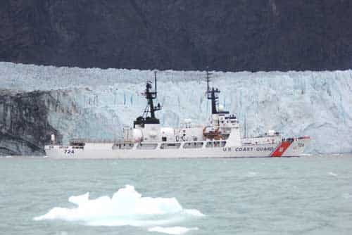 Coast Guard Assists National Park Service in Glacier Bay Kayaker Rescue
