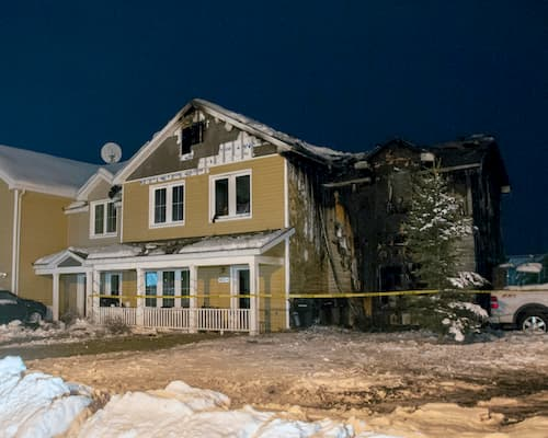 Fire on Fort Wainwright Displaces Four Families