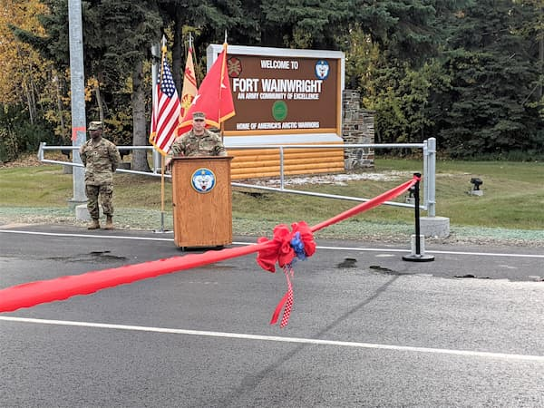 Fort Wainwright Main Gate Reopens After Summer Closure