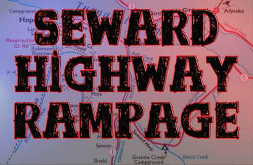 Man Steals Truck in Anchorage and Goes on Seward Highway Vehicular Crime Spree