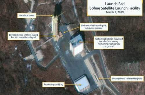Satellite Images Show North Korea Resuming Missile Site Construction
