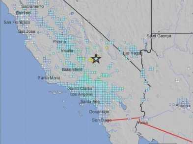 Strong Earthquake Shakes Southern California