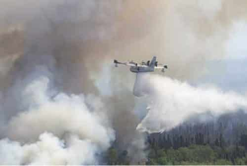 Alaska Army National Guard Supports Fire Suppression Mission