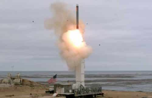 US Tests 1st Ground Missile Previously Banned in Dissolved Arms Treaty with Russia