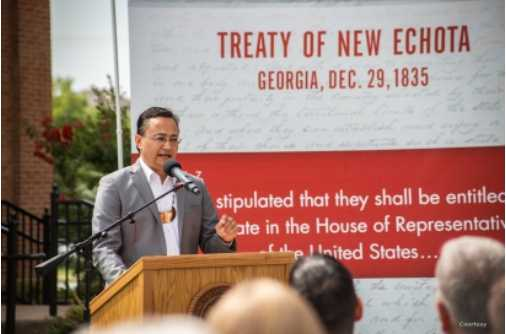 Will US Congress Admit Delegate From Cherokee Nation?