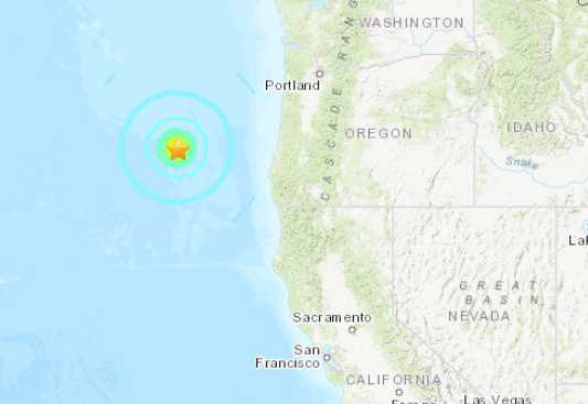 6.3 Earthquake Shakes Western Oregon This Morning
