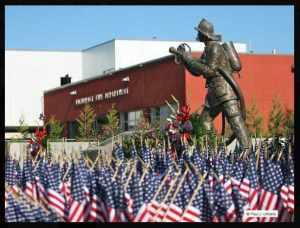 Alaskan Fallen Firefighter Memorial. Image-Paul J. Urbano