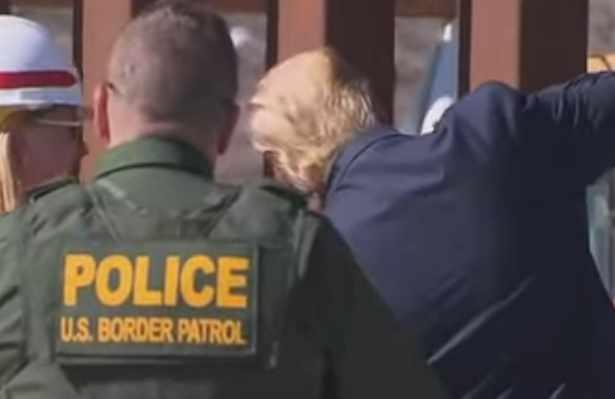 Trump Makes His Mark on Signature Border Wall Project