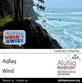 Wind-Alutiiq Word of the Week-November 10th