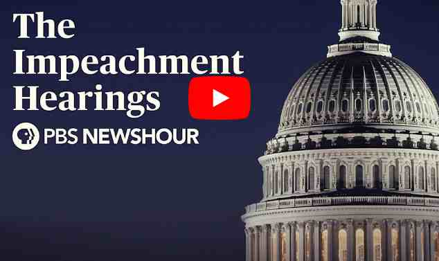 LIVE: The Impeachment Hearings