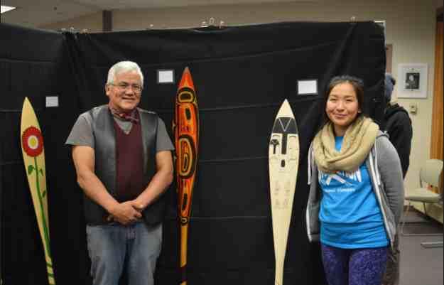 UAS Student Northwest Coast Artwork featured in Successful Showcase
