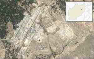bagram airbase. image-VOA