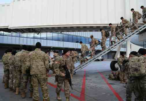 Alaska Guard Military Police Company Redeploys From Kuwait