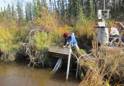 Researchers use Stream Chemistry to Predict Change