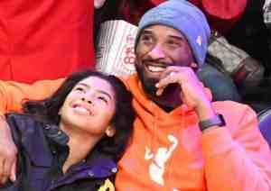 Kobe and his daughter Gianna. Image-Internet sccreenshot