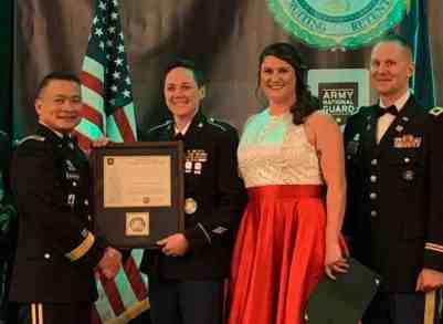 Alaska Army National Guard recruiter recognized for top performance