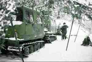 The Small Unit Support Vehicle (SUSV) is a full tracked, articulated vehicle designed to support infantry platoons and similar sized units during the conduct of operations in arctic and alpine conditions.