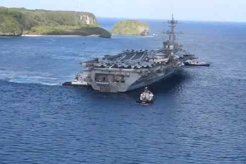 USS Theodore Roosevelt Deploys to Philippine Sea After COVID-19 Outbreak
