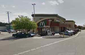 APD opened an investigation after locating a stabbing victim in the McDonalds parking lot at 800 West Northern Lights. Image-Google Maps